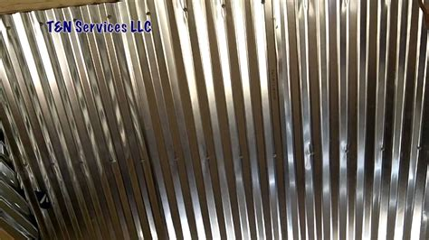 Kitchen Lights Ceiling Ideas - corrugated metal ceiling install youtube