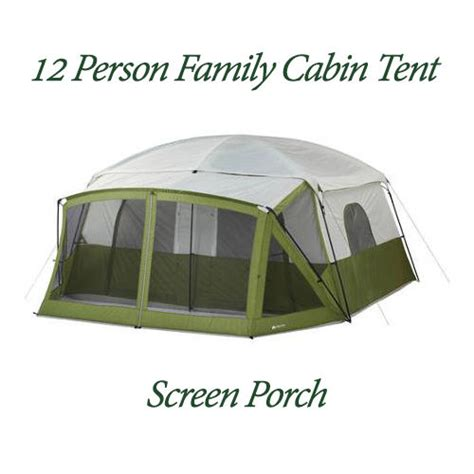 10 person tent with screened porch 12 person tent ozark trail 14 x12 green family cing