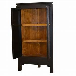 Armoire D Angle : armoire d 39 angle chinoise en orme meubles ~ Teatrodelosmanantiales.com Idées de Décoration