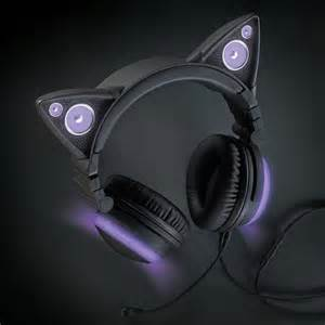 cat headphones cat ear headphones ebay