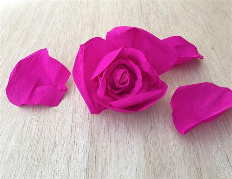 carta fiori i fiori di carta crespa per il magazine borrelli