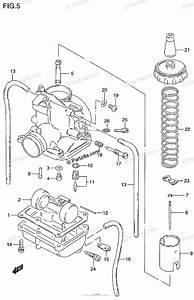 Suzuki Motorcycle 2000 Oem Parts Diagram For Carburetor