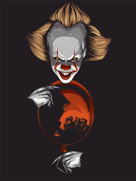 Background Digital Pennywise Clown Pennywise Wallpaper by Stephenking Pennywise It Itmovie Digitalart