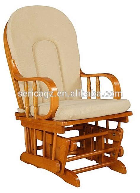buy wooden rocking chair 1615 3085 glider rocker with pattern fabric comfortable wooden rocking chair buy furniture