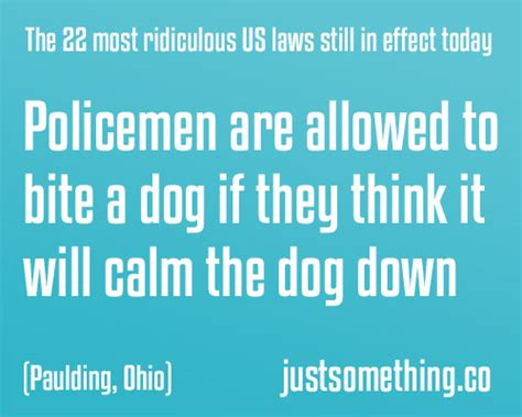 laws in the us the 22 most ridiculous us laws still in effect today 10 is just crazy lol