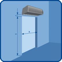 2vv air curtain installation method