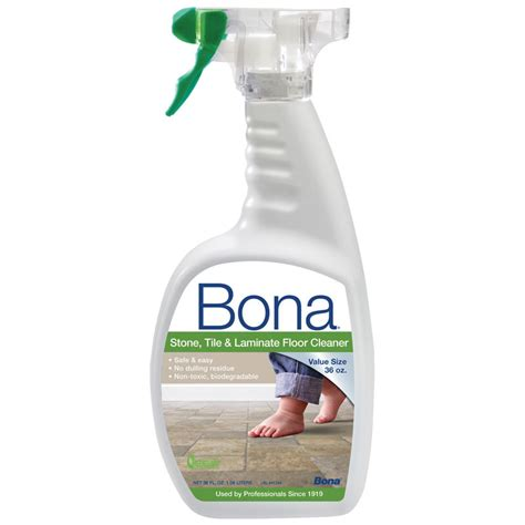 Bona Hardwood Floor Cleaner Spray by Bona Tile Laminate Floor Cleaner Unoclean