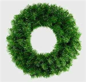 50cm premier plain green wreath artificial christmas xmas door decoration ebay