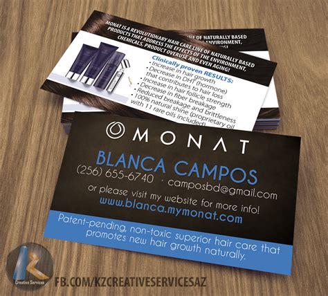 monat business cards style  kz creative services