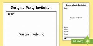 design a party invitation template design design a party With wedding invitation templates ks1