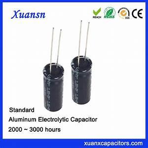 Standadrd 68UF200V Aluminum Electrolytic Capacitor