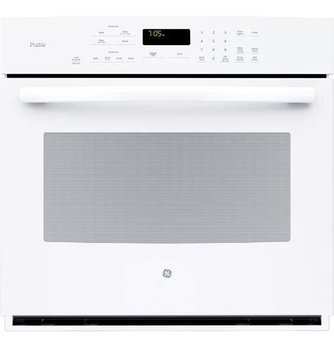 ge profile series  built  single convection wall oven ptdfww  appliances
