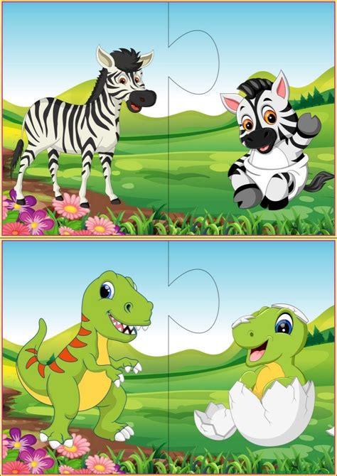 Puzzles Infantiles Para Niños De 2 A 3 Añosvi  Web Del