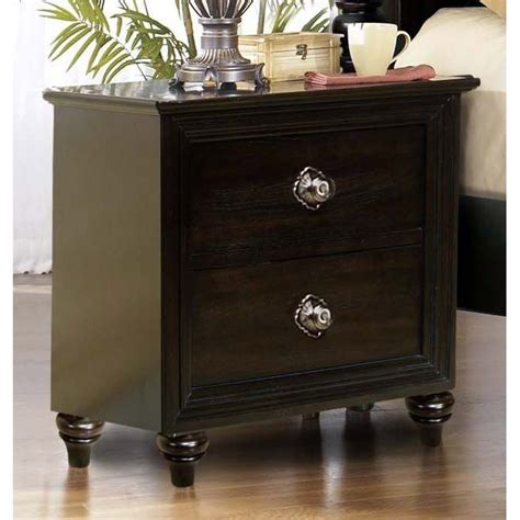 Nightstands Clearance by Tessy Oak 2 Drawer Nightstand Rc Willey Furniture Store