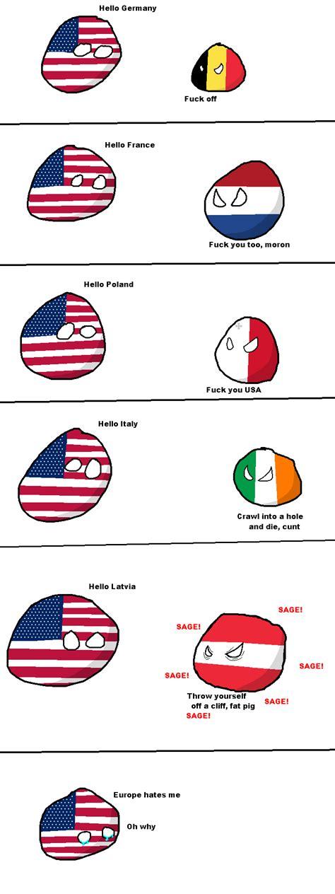Country Ball Memes - polandball polandball know your meme