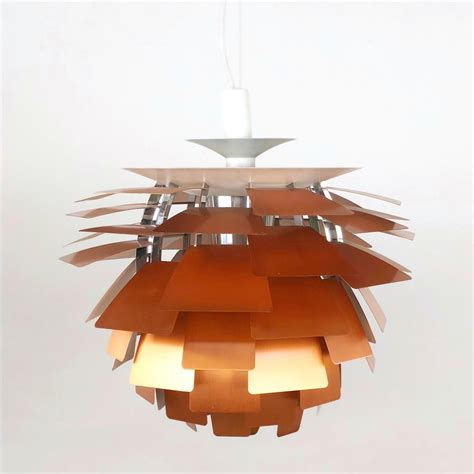 Louis Poulsen Artichoke by Artichoke Chandelier By Louis Poulsen In Copper 91518