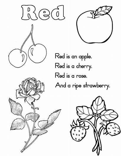 Worksheets Printable Preschool Coloring Kindergarten Pink Pages