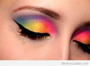 Rainbow Makeup Photos