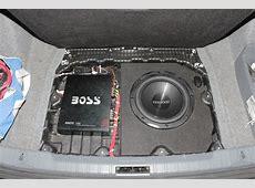 Bmw e90 trunk compartment sub enclosure for sale!