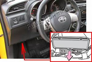 Fuse Box Diagram  U0026gt  Scion Tc  Agt20  2011