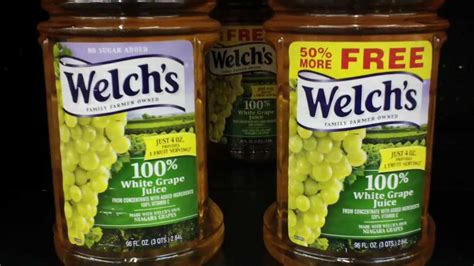 Welch's White Grape Juice: No Sugar Added = MORE Calories ...