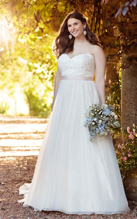 Wedding Gowns by Plus Size Gown Wedding Dresses Essense Of Australia