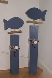 Fische Aus Holz : fische aus holz diy basteln kreative ideen craft hobby pinterest basteln mit holz ~ Buech-reservation.com Haus und Dekorationen