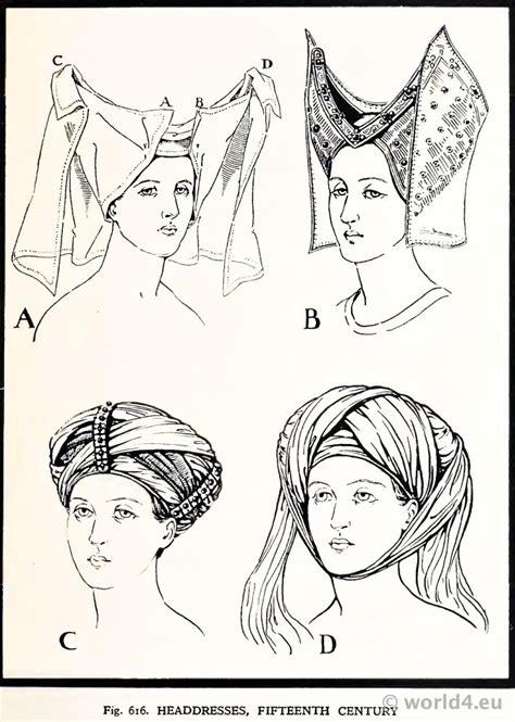 headdresses  century  reticulated headdress