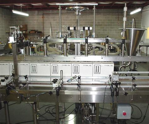 small frame automatic overflow filling machine