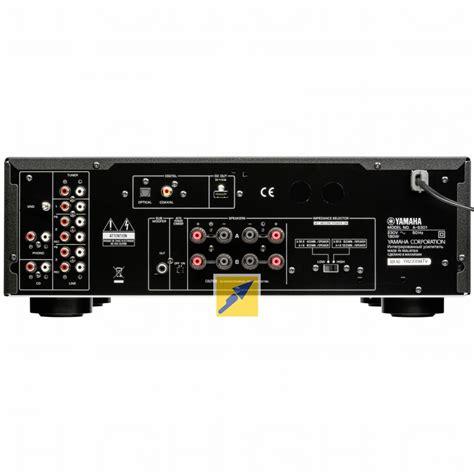 Audio Centre Yamaha A S301 Hitam Stereo System