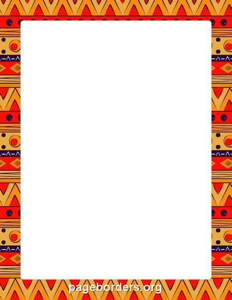 kente cloth clipart borders clipground