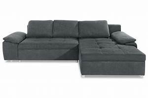 Couch Mit Schlaffunktion Günstig : ecksofa grau sofas zum halben preis ~ Eleganceandgraceweddings.com Haus und Dekorationen