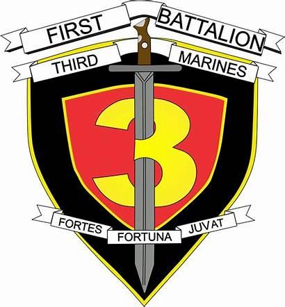 Marines Battalion 3rd 1st Marine Decal Sticker