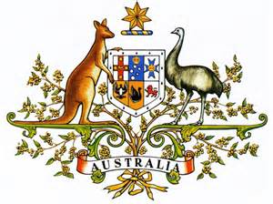 national arms of australia coat of arms crest of national arms of australia