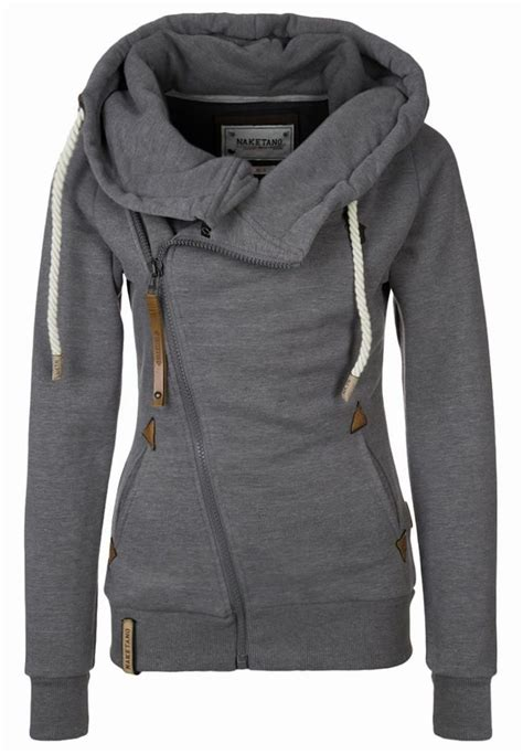 sweater with hoodie naketano family biz iii hooded jacket for grey