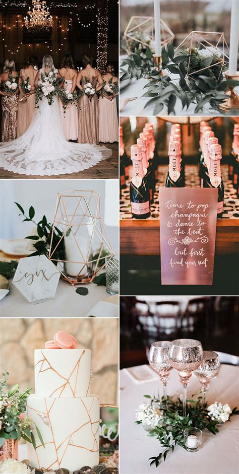 18 Gorgeous Rose Gold Wedding Ideas for 2021