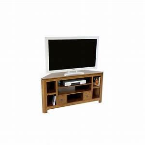 meuble tv d39angle hevea 127cm helena pier import With meuble tv angle