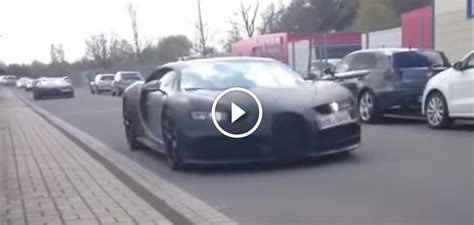 Bugatti Chiron Spotted With Veyron, 918 Spyder, Huracan And I8