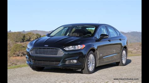 2014 Ford Fusion Energi Plug In Hybrid Review And Road