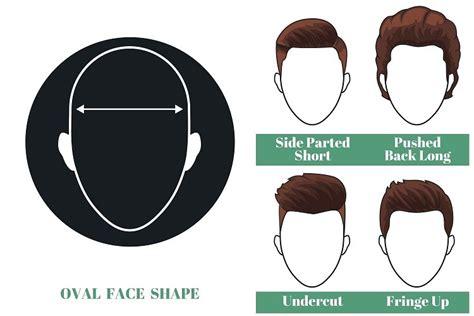 short hairstyles  men based  face shape