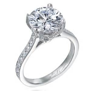 christian bauer rings nagi bridal beignet diamond solitaire platinum