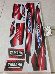 Jual Striping Sticker Lis Motor Variasi Yamaha Vega  U0026 Vega R 110 Zr Merah Di Lapak Solo Sticker
