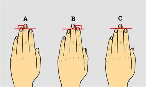 Si janë gishtat tuaj? Ja çfarë tregon gjatësia e tyre për ...