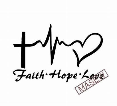 Faith Svg Christian Valentine Silhouette Shirt Heart
