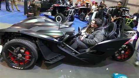 Polaris Slingshot 3-wheel Motorcycle