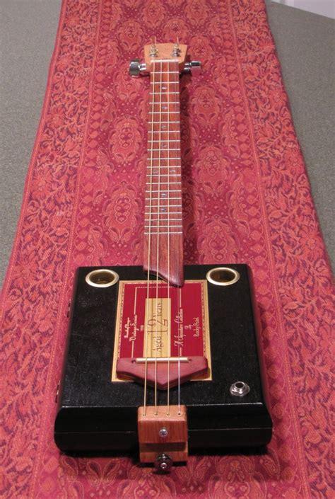barefoot boogie guitars cigar box guitar  string rocky
