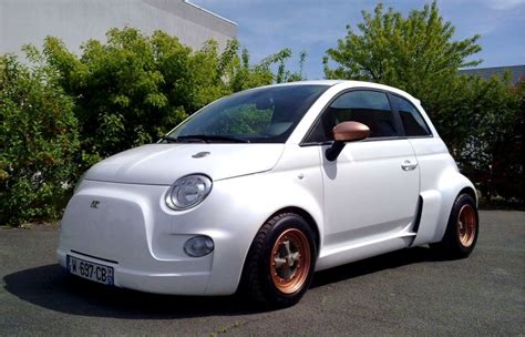 Who Makes Fiat Car by Atomik Makes Electric Supercar Out Of Fiat Abarth 500