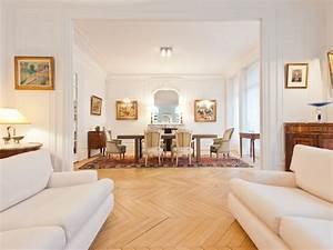 Décoration d'un appartement Haussmannien à Paris, avenue de Wagram