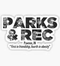 Parks and Recreation Lil Sebastion Sticker