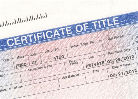 Bill Of Sale/vehicle Transfer Of Title/car Truck